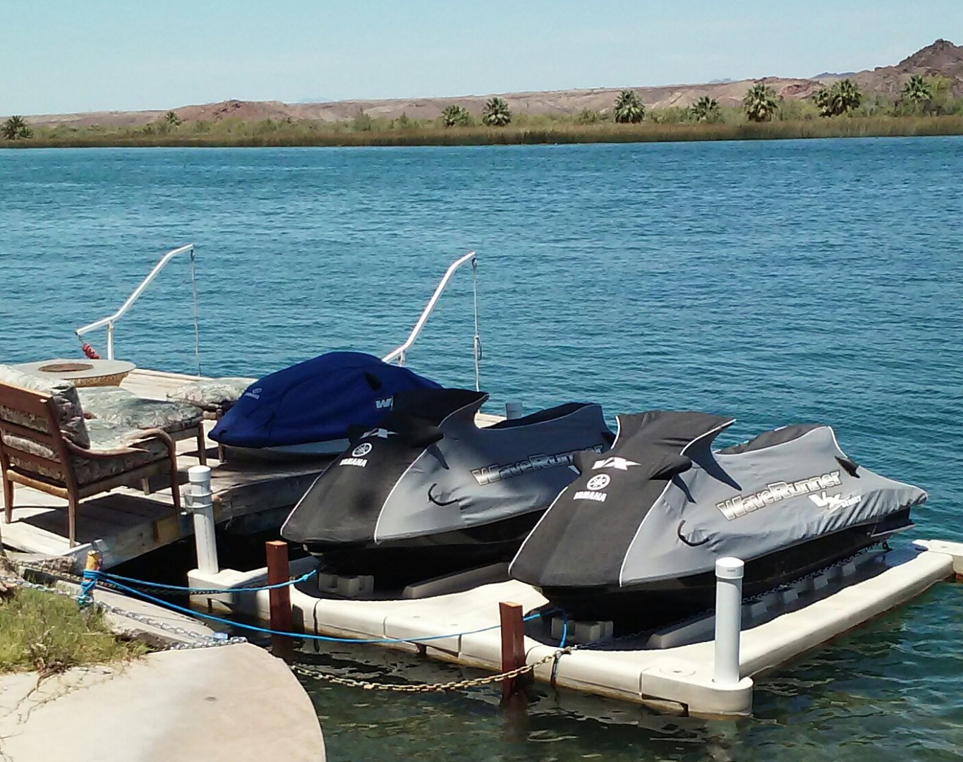 PWC floating dock for Sea-Doos 4 sale $1,200 | River Daves Place