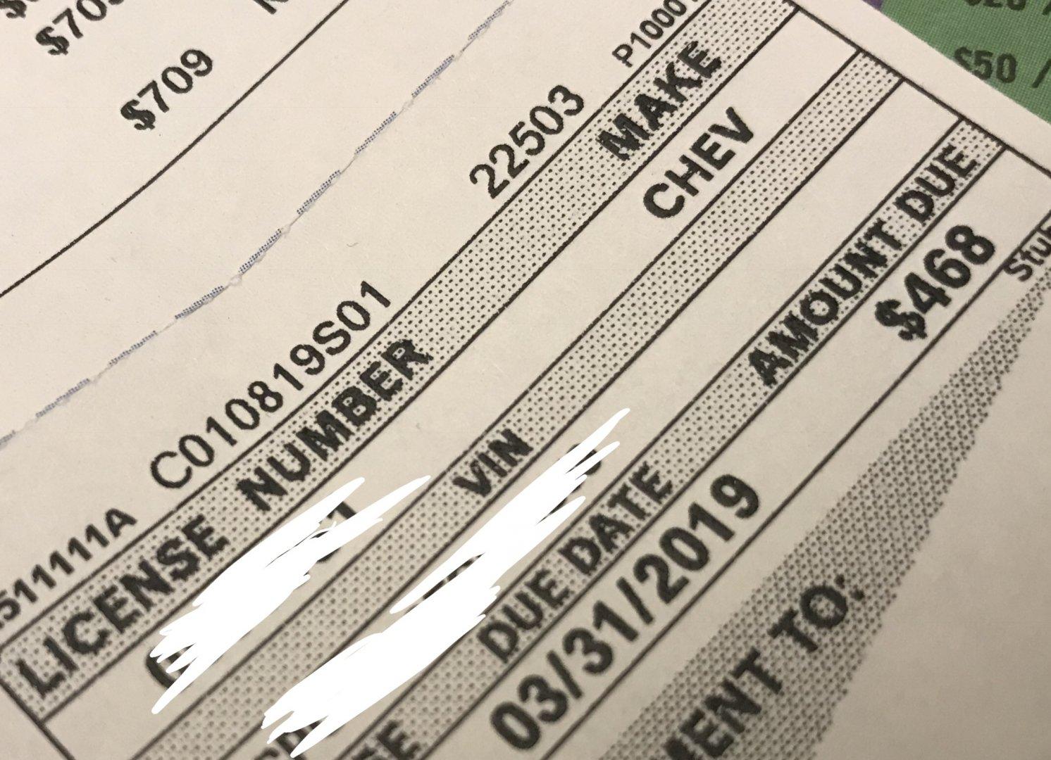 California DMV Fees Suck! | River Daves Place