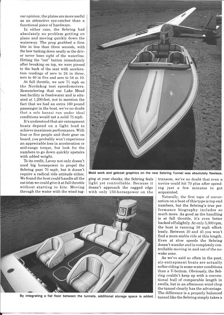1987 Powerboat Magazine Review  - LCI Sebring Tunnel page 2.jpg