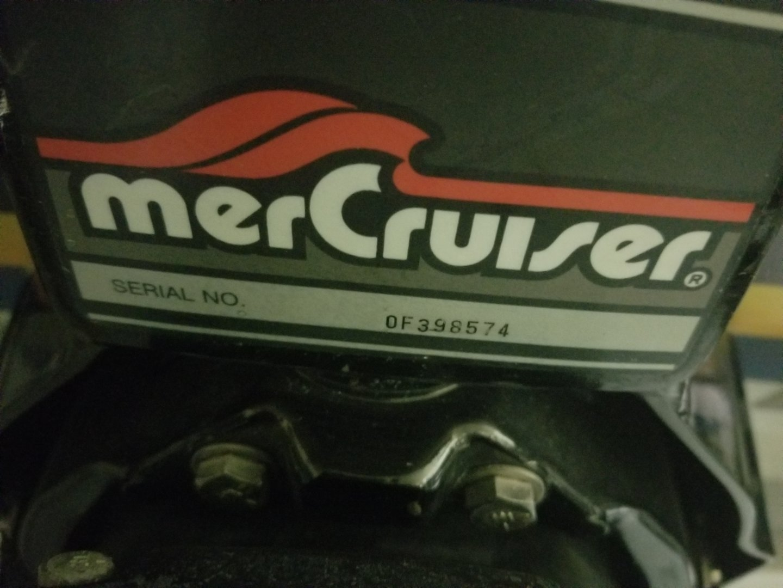 mercruiser 260 serial number lookup