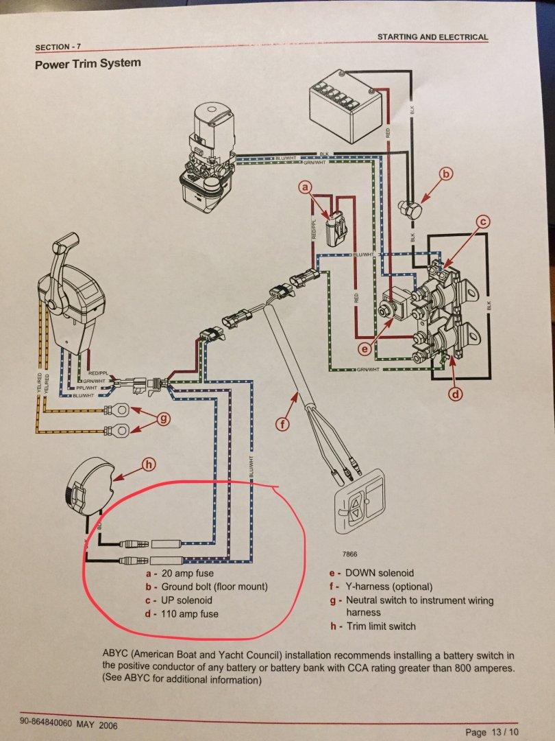 Trim limit wiring
