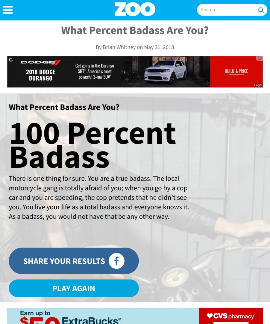 Are you a badass? | River Daves Place