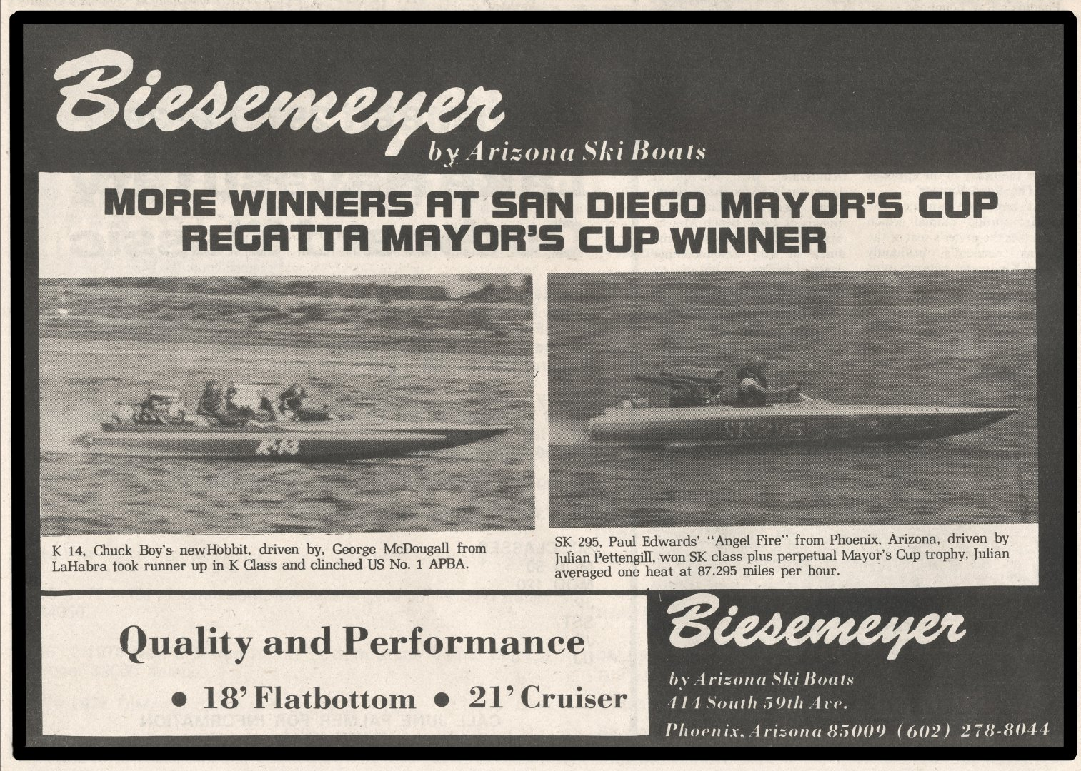 Biesemeyer Ad Race Boat and Industry News Nov 1975.jpg