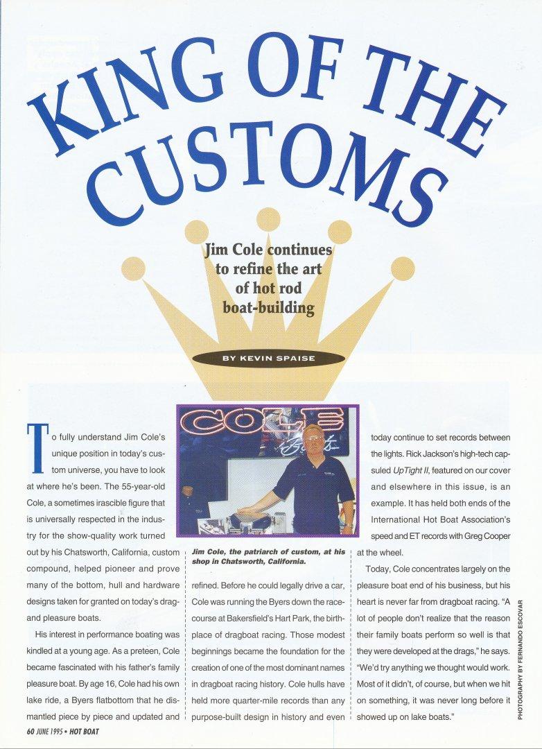 Cole King of Customs Hot Boat June 1995 1.jpg