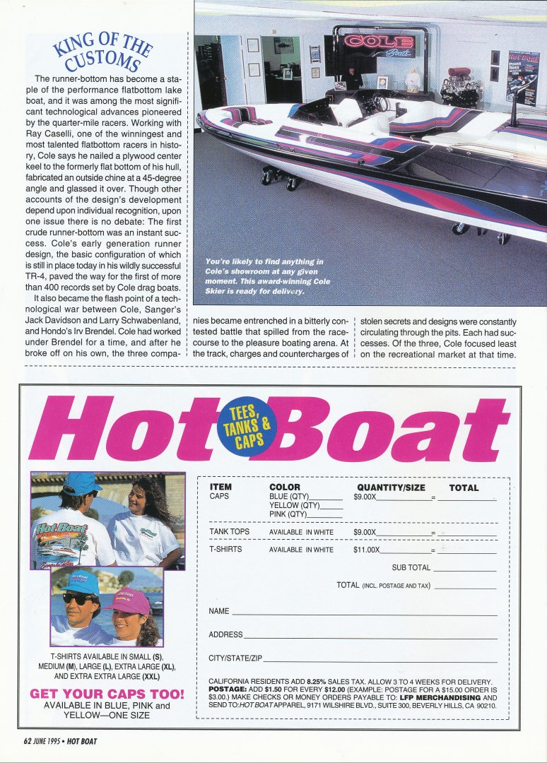 Cole King of Customs Hot Boat June 1995 3.jpg