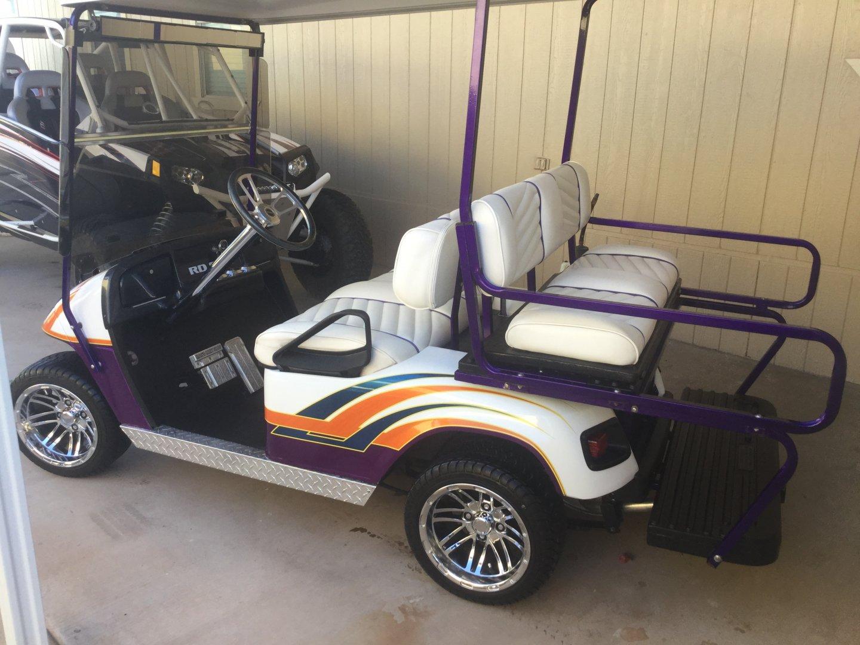 BIG BLOCK EZGO GOLF CART | River Daves Place on big golf discounts, big excavators, big dog cart, big storage, dough boyz custom carts, big max golf, big golf mats, two seater carts,