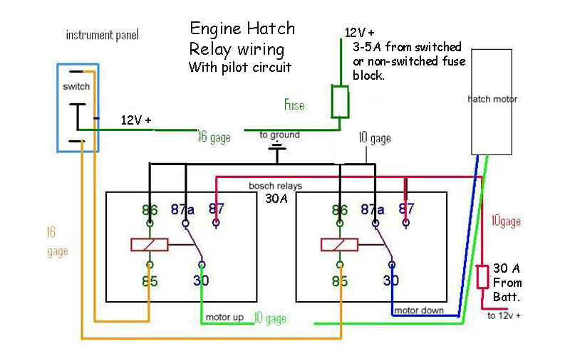 relay switch | river daves place 2 post winch motor wiring diagram  river daves place