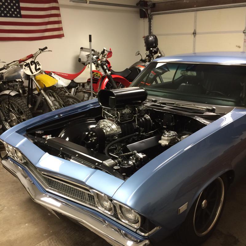 1968 Malibu pro street/pro touring/hot rod/muscle car/money pit ...