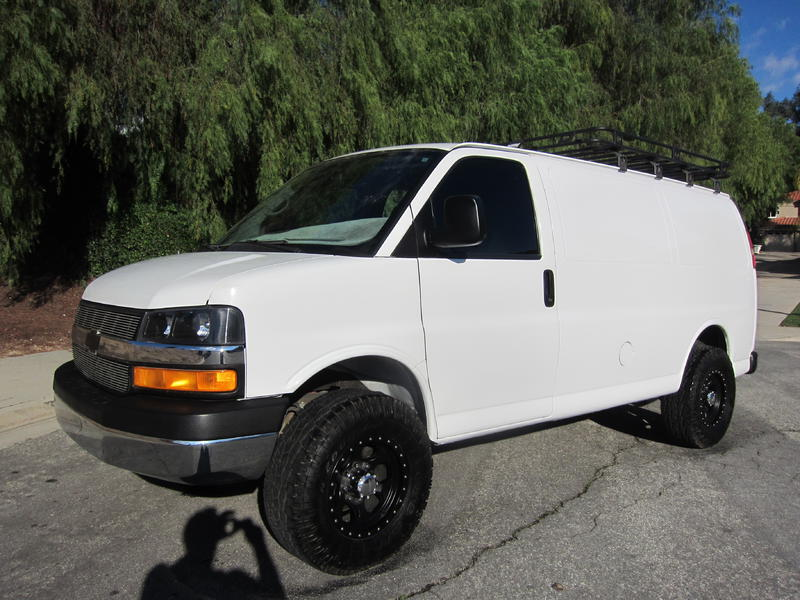Custom Chevy Express Van