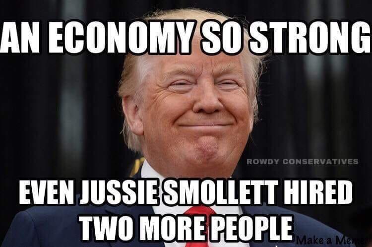 Image result for jussie smollett trump derangement syndrome