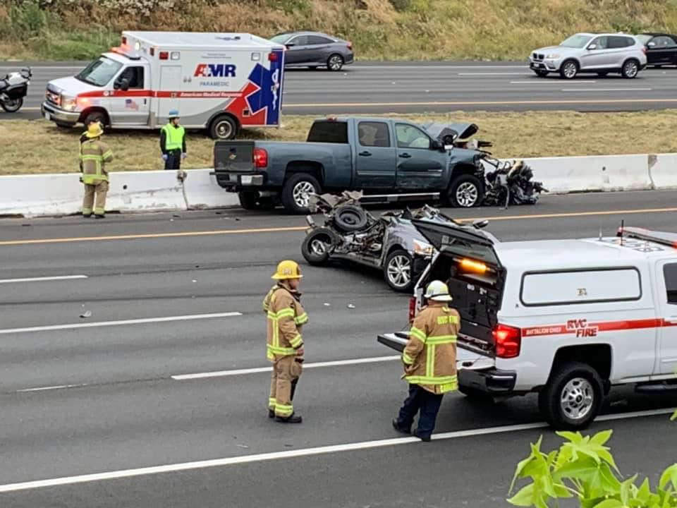 Accident on 15 S in Temecula this morning | River Daves Place
