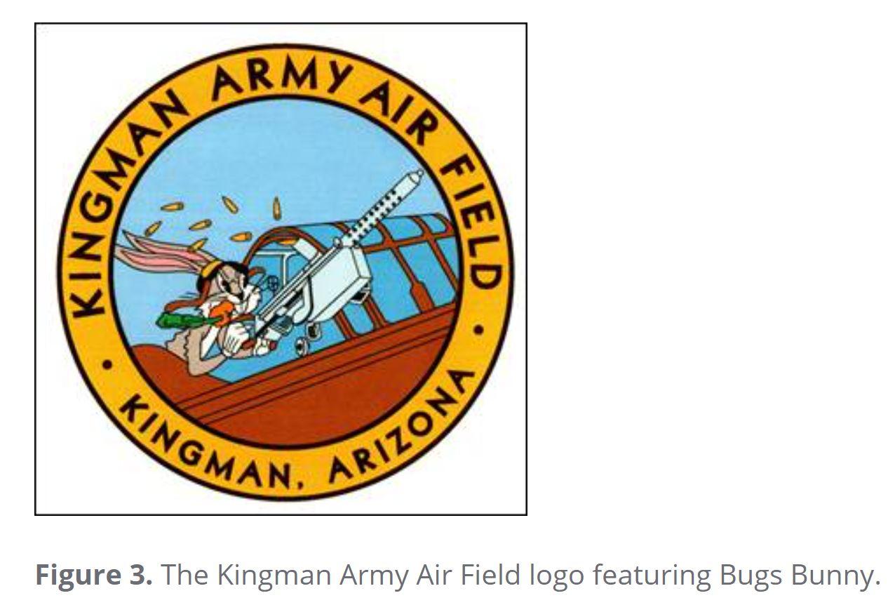 Kingman Army AF Mascot Bugs Bunny.JPG