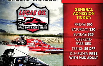 DRAG RACING RETURNS TO IRVINE LAKE THIS WEEKEND!!