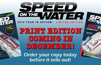 Speed On the Water in Print - Year in Review!