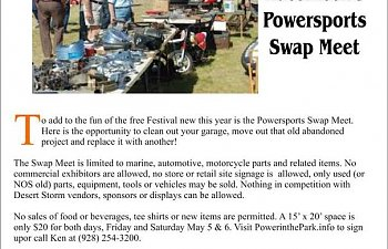 Desert Storm Poker Run & Power in the Park Festival