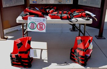 AZGF LIFE JACKET EXCHANGE PROGRAM AND IT'S FREE!