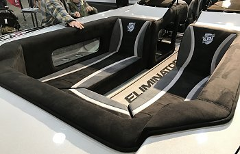 Eliminator 28 Speedster at the Los Angeles Boat Show!